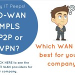 SD-WAN, MPLS, P2P or VPN? [Infographic]
